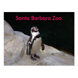 Santa Barbara Zoo Postcard
