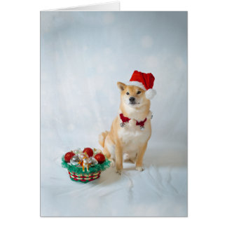 Santa Barkley, Greeting Card w/white envelope