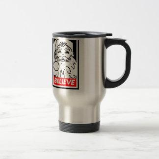 Santa: BELIEVE Travel Mug