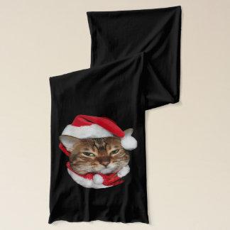 Santa Bengal Cat Scarf