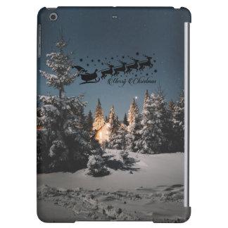 Santa bless you this Christmas Happiness love joy iPad Air Cover
