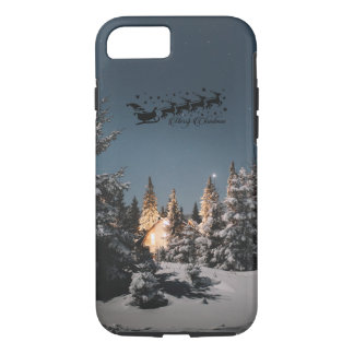 Santa bless you this Christmas Happiness love joy iPhone 8/7 Case