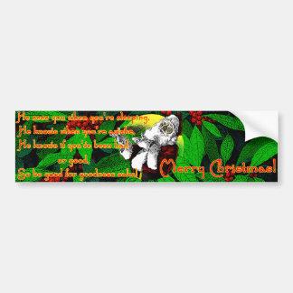 Santa! - Bumper Sticker Car Bumper Sticker