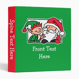 Santa, Can We Talk 3 Ring Binder