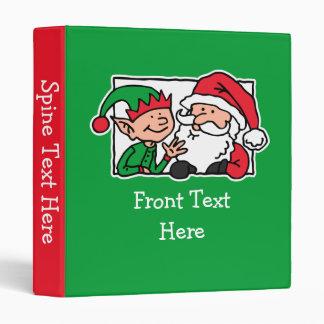 Santa, Can We Talk Vinyl Binders