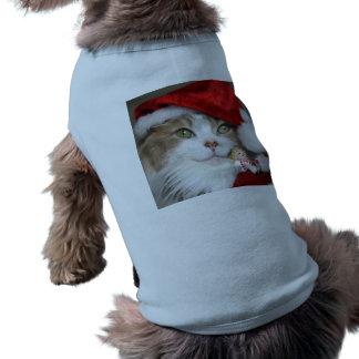Santa cat - christmas cat - cute kittens shirt
