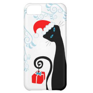 Santa Cat iPhone 5 Case
