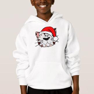 Santa Cat Kids' Hanes ComfortBlend® Hoodie