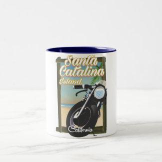 Santa Catalina Island , California USA Two-Tone Coffee Mug