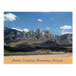 Santa Catalina Mountains Tuscon Arizona Postcard