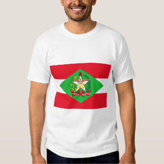 Santa Catarina, Brazil Flag Tshirt