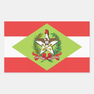 Santa Catarina, Brazilian state flag Stickers