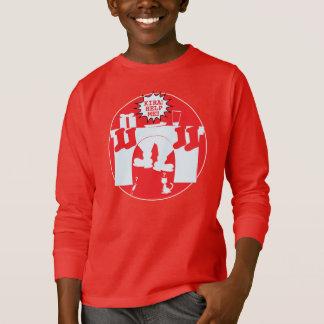 Santa Caught for Kira T-Shirt