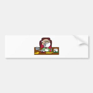 Santa CEO Bumper Sticker