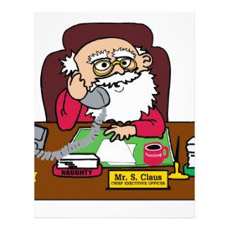 Santa CEO Letterhead