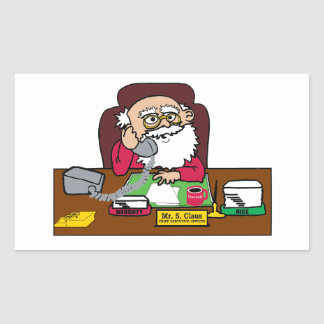 Santa CEO Sticker