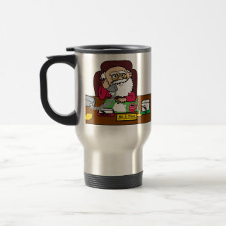 Santa CEO Travel Mug