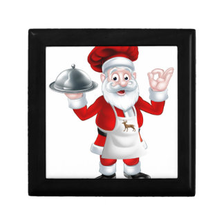 Santa Christmas Chef Gift Box