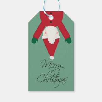 Santa Christmas Gift Tag Pack Of Gift Tags