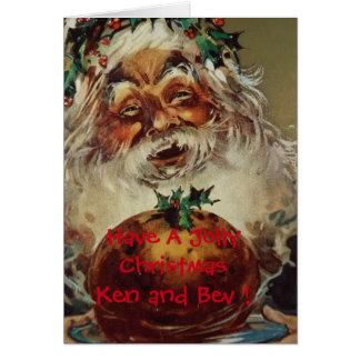 Santa Christmas Greeting Card