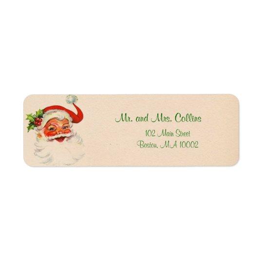 Santa Christmas Labels