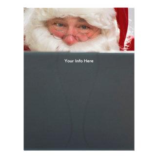 Santa Christmas Letterhead