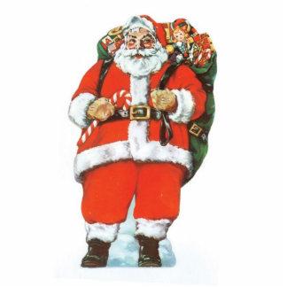 Santa Christmas Ornament Photo Cut Out