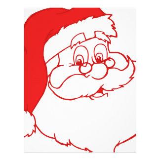 Santa claus2 custom letterhead