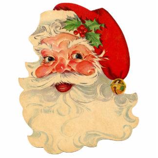 Santa Claus 1 Keychain Photo Sculpture Keychain