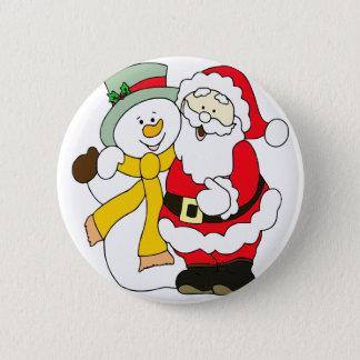 santa-claus 2 inch round button