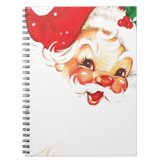 Santa-Claus #2 Spiral Note Book