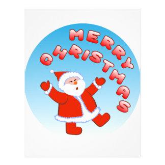 Santa Claus 5 Letterhead Template