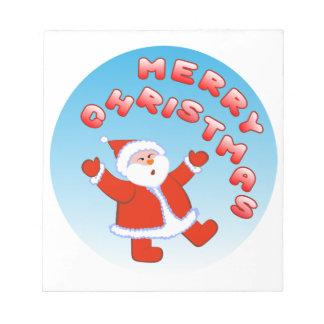 Santa Claus 5 Notepad