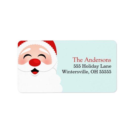 Santa Claus Address Labels