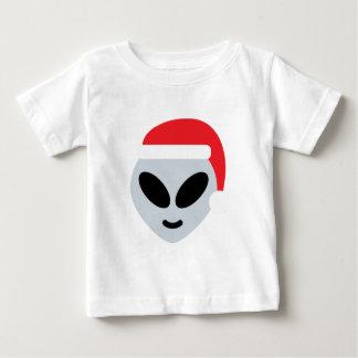 santa claus alien emoji baby T-Shirt