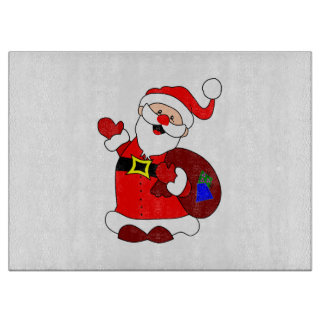 Santa Claus and gift bag clipart Boards