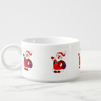 Santa Claus and gift bag clipart Chili Bowl