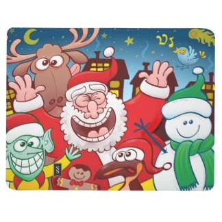 Santa Claus and his team are ready for Christmas Journal
