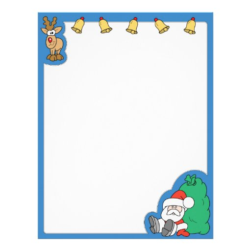 Santa Claus and Reindeer Christmas   Zazzle