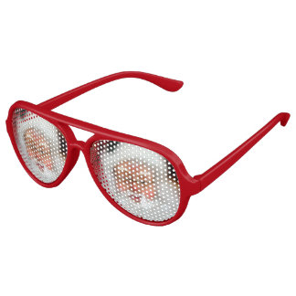 Santa Claus Aviator Sunglasses