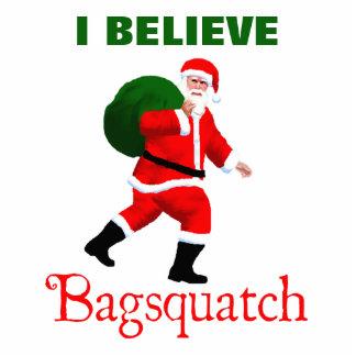 Santa Claus - Bagsquatch Photo Sculpture Magnet