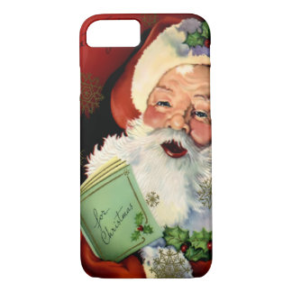 Santa Claus Barely There iPhone 7 case
