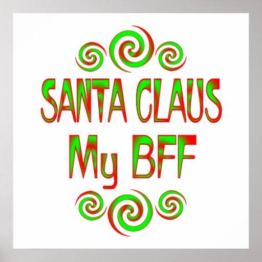 Santa Claus BFF Poster