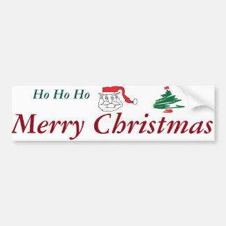 Santa Claus Bumper Sticker