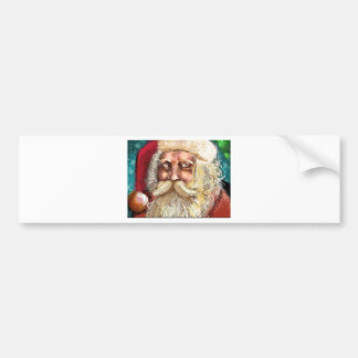 Santa Claus Bumper Sticker