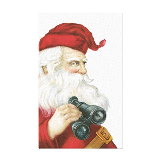 Santa Claus Gallery Wrapped Canvas