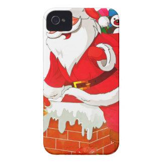 santa claus Case-Mate iPhone 4 cases