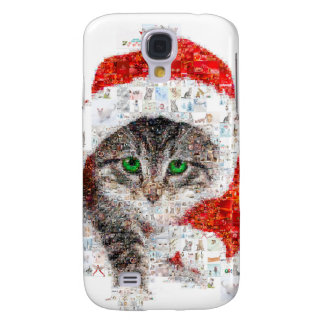 santa claus cat - cat collage - kitty - cat love