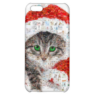santa claus cat - cat collage - kitty - cat love cover for iPhone 5C