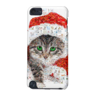 santa claus cat - cat collage - kitty - cat love iPod touch 5G case